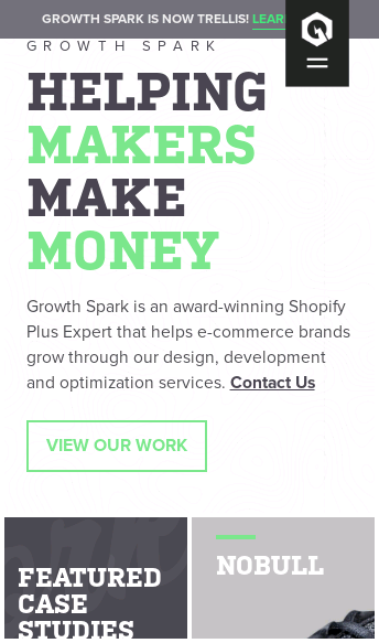 Growth Spark  Web Design