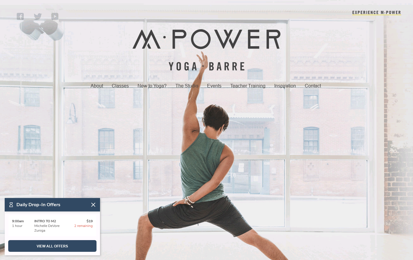 M·Power Yoga