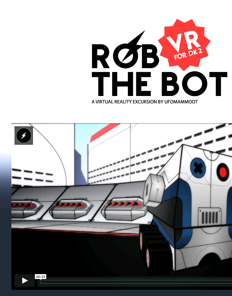 Rob the Bot  Web Design