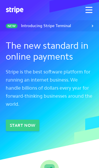 Stripe  Web Design