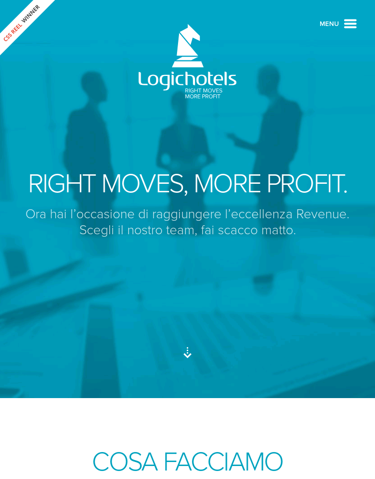 Logichotels  Web Design