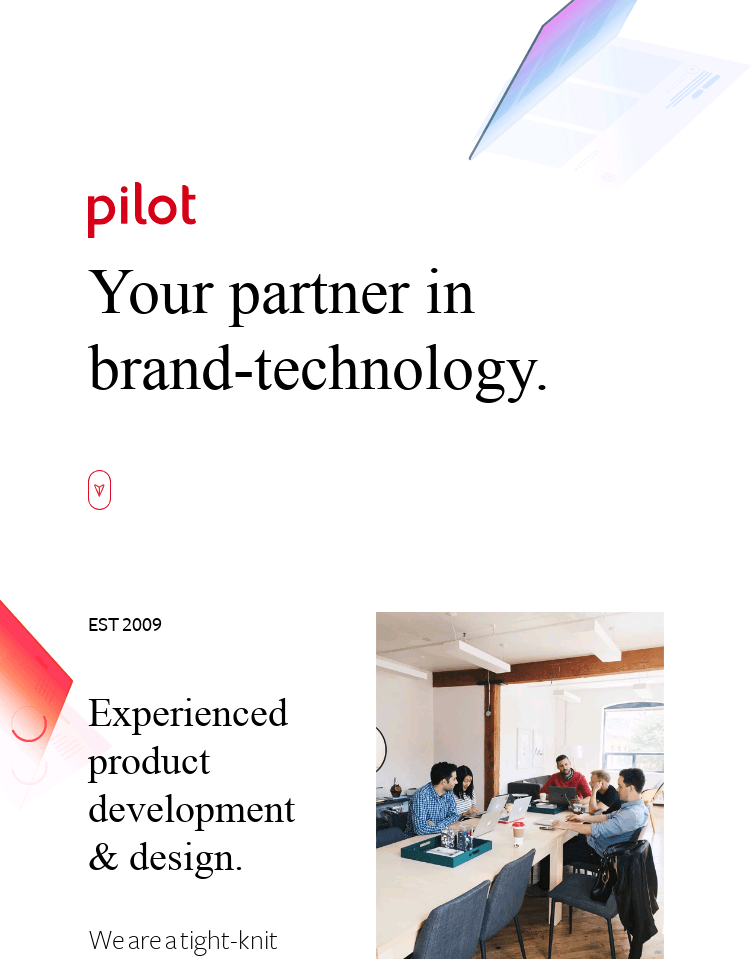Pilot Interactive  Web Design