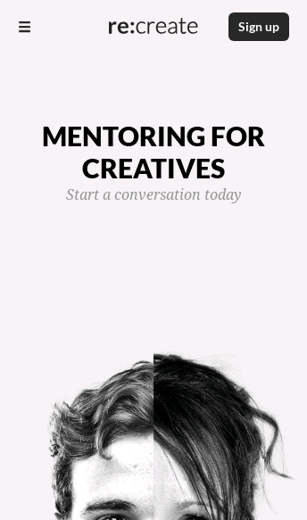 Mentoring for Creatives  Web Design