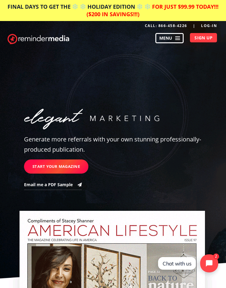 ReminderMedia  Web Design