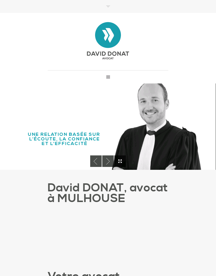 Maître David DONAT  Web Design