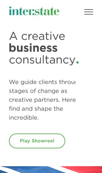 Interstate Creative Partners  Web Design
