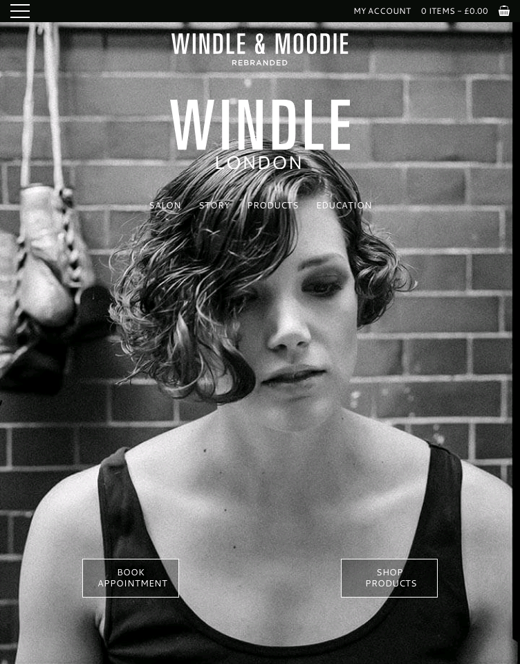 Windle London  Web Design