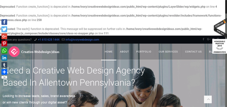 creative web design ideas - Website Design Ideas