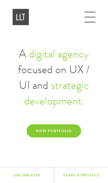 LLT Group Digital Agency  Web Design