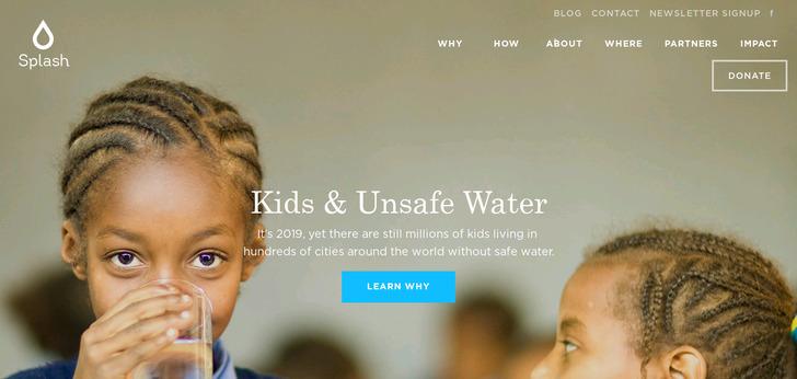 best web design colors 2014 splash website has a great web design best web designs