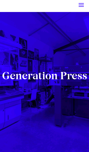Generation Press   Web Design