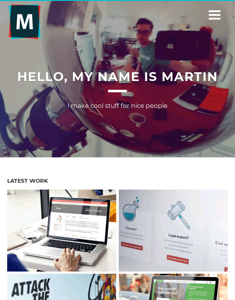 Martin Wright  Web Design