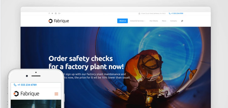 WP Theme: Fabrique