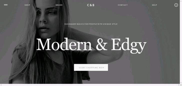 CUTE+BROKE website has a Great Web Design | Best Web Designs