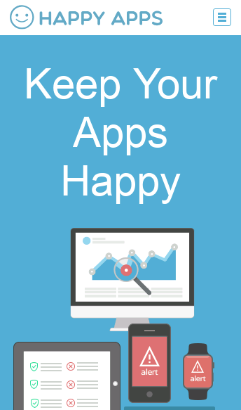 Happy Apps  Web Design
