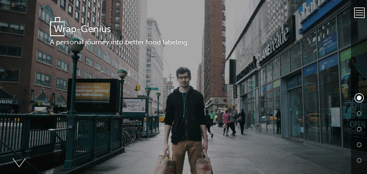 Wrap-Genius - A personal journey into better food labeling