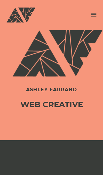 Ashley Farrand  Web Design
