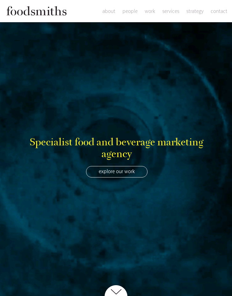 Foodsmiths  Web Design