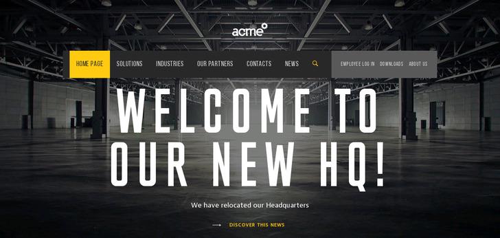 Best industrial websites web design inspirations for Industrial design sites