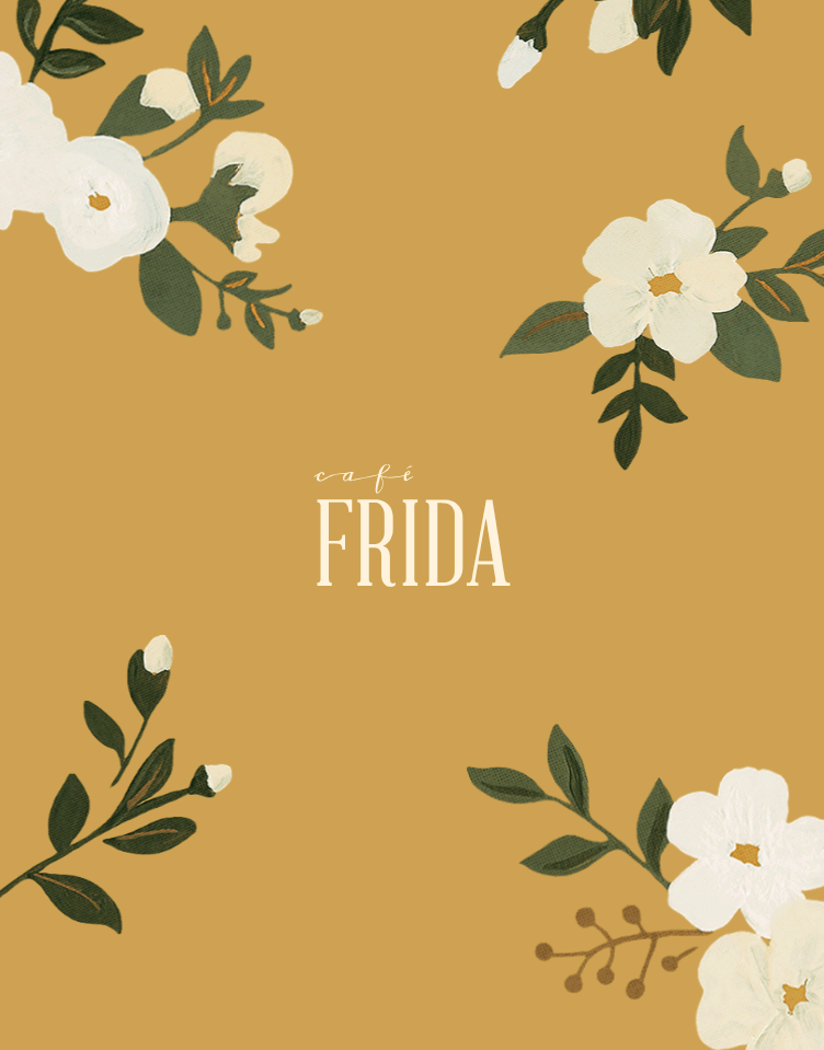 Café Frida  Web Design
