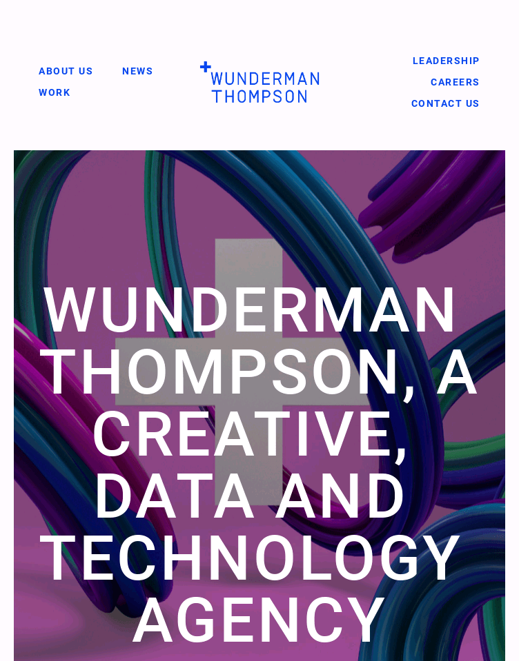 J. Walter Thompson Amsterdam  Web Design