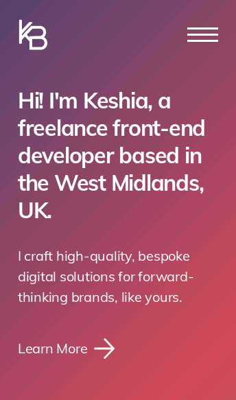 Keshia Brown  Web Design