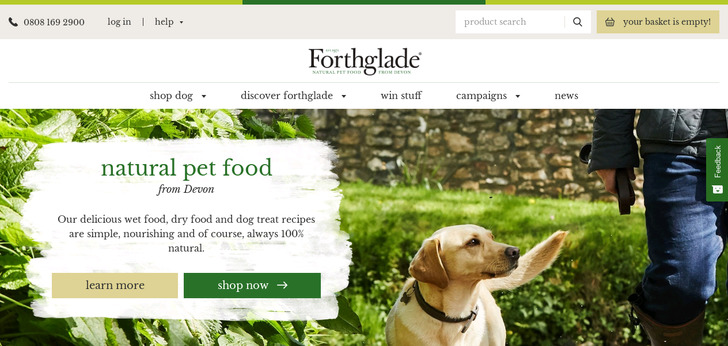 Forthglade Natural Pet Food