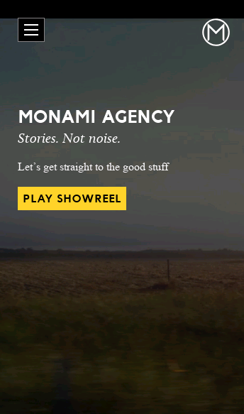 Monami Agency  Web Design