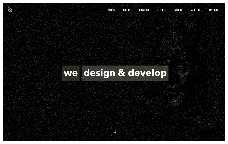 Nerds Company Website Is A Web Design Inspiration