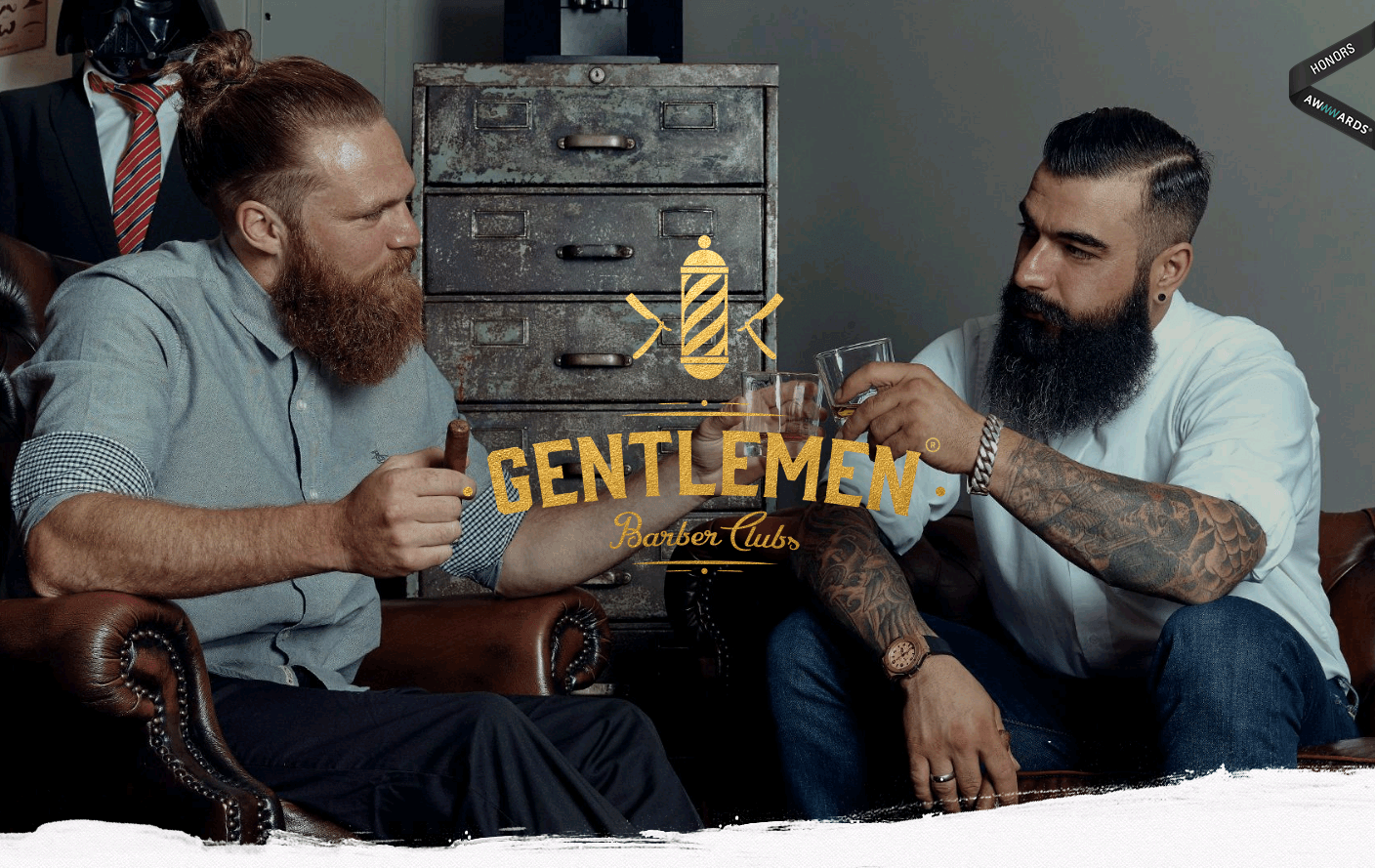 Gentlemen Barber Clubs