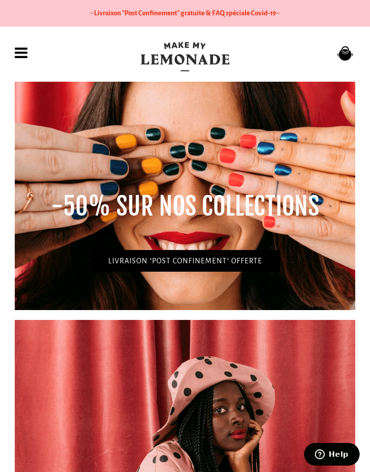 Make My Lemonade by Lisa Gachet  Web Design