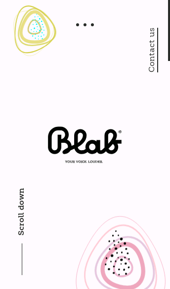 Blab Studio  Web Design