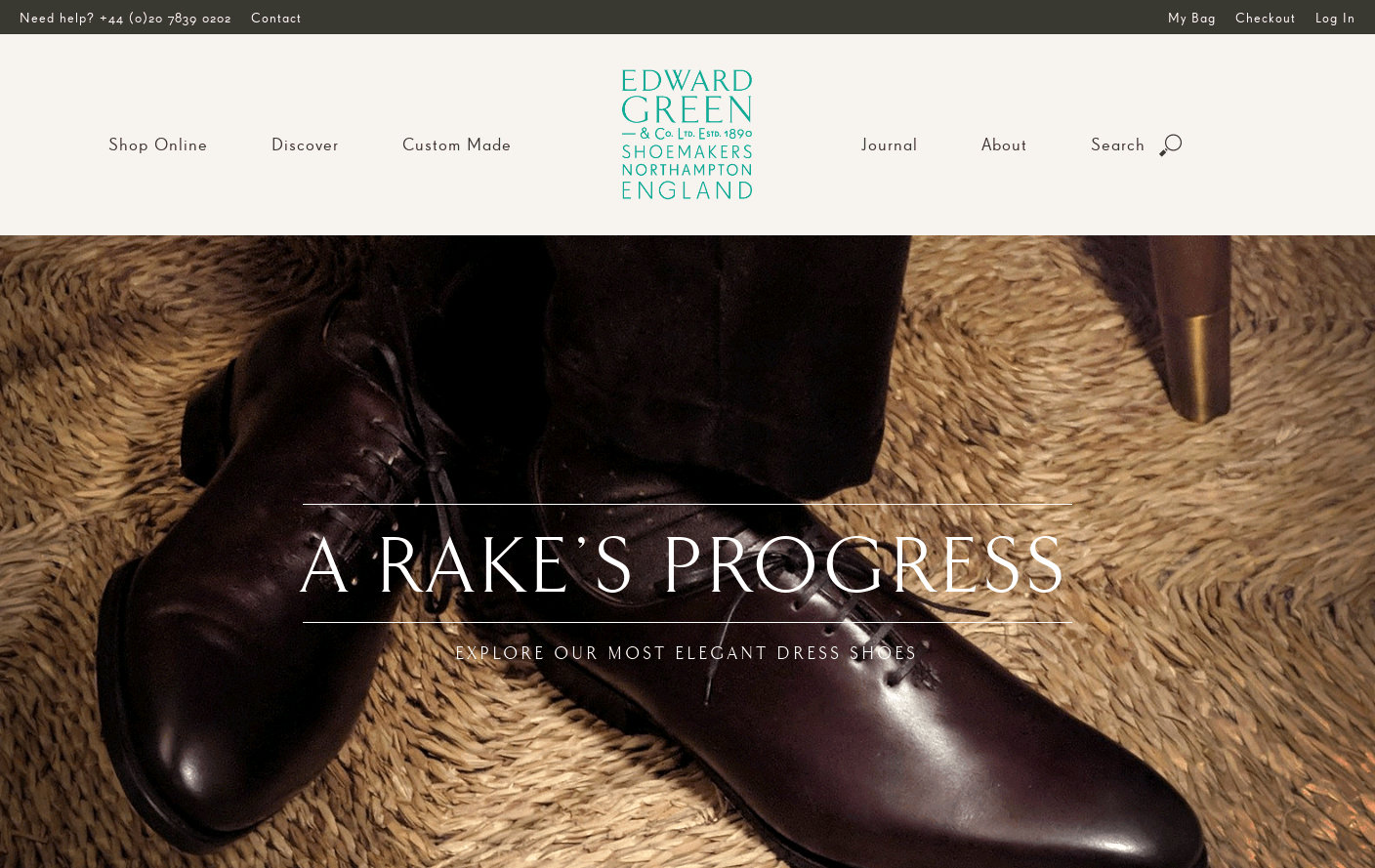 Edward Green | Home | Men's English Shoes since 1890