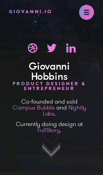 Giovanni Hobbins  Web Design