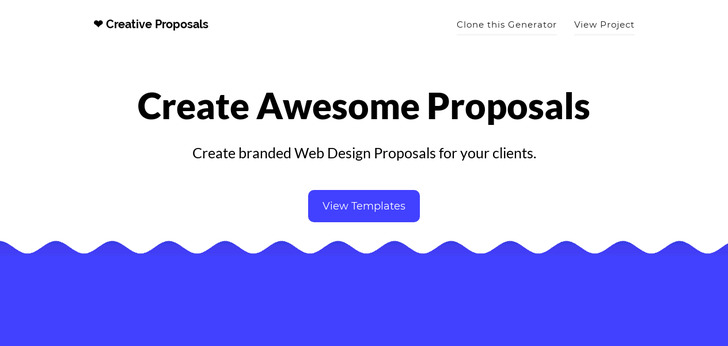 Creative Proposals