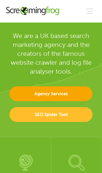 Screaming Frog  Web Design