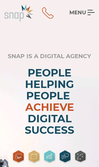Snap Agency  Web Design