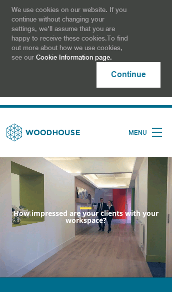 Woodhouse Workspace  Web Design