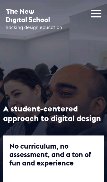 The New Digital School  Web Design