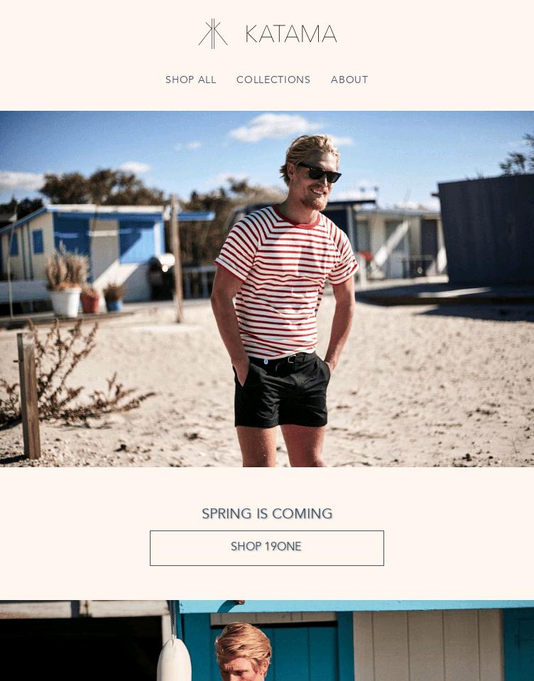 Katama Swim     Web Design