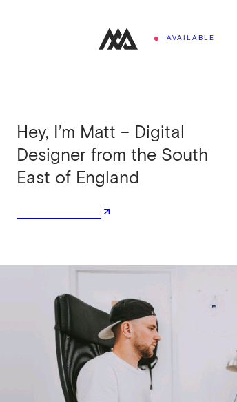 Matt Axell Digital Designer  Web Design