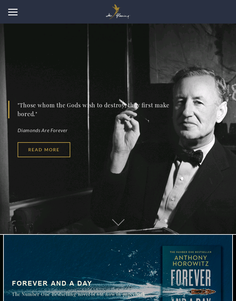 Ian Fleming  Web Design