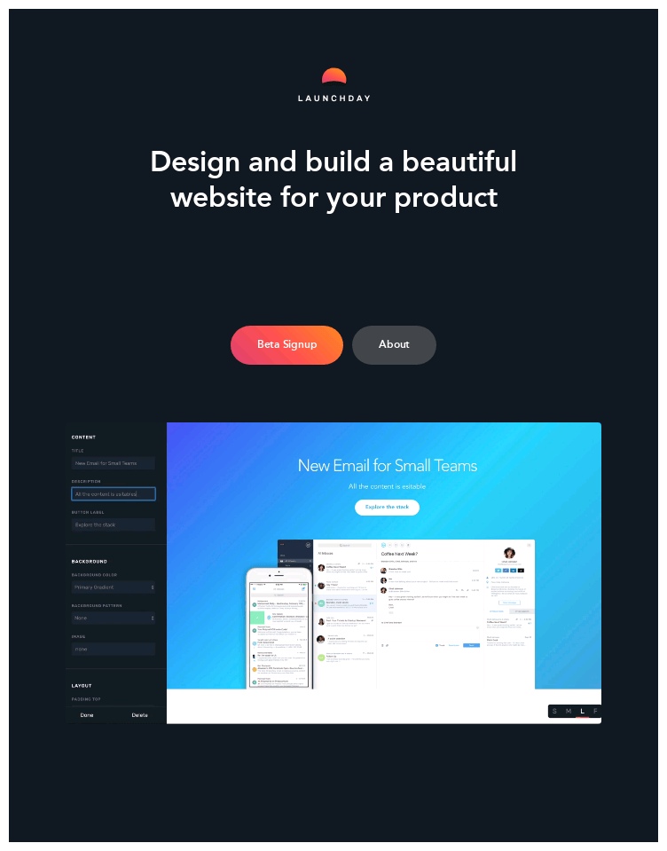 Launchday  Web Design