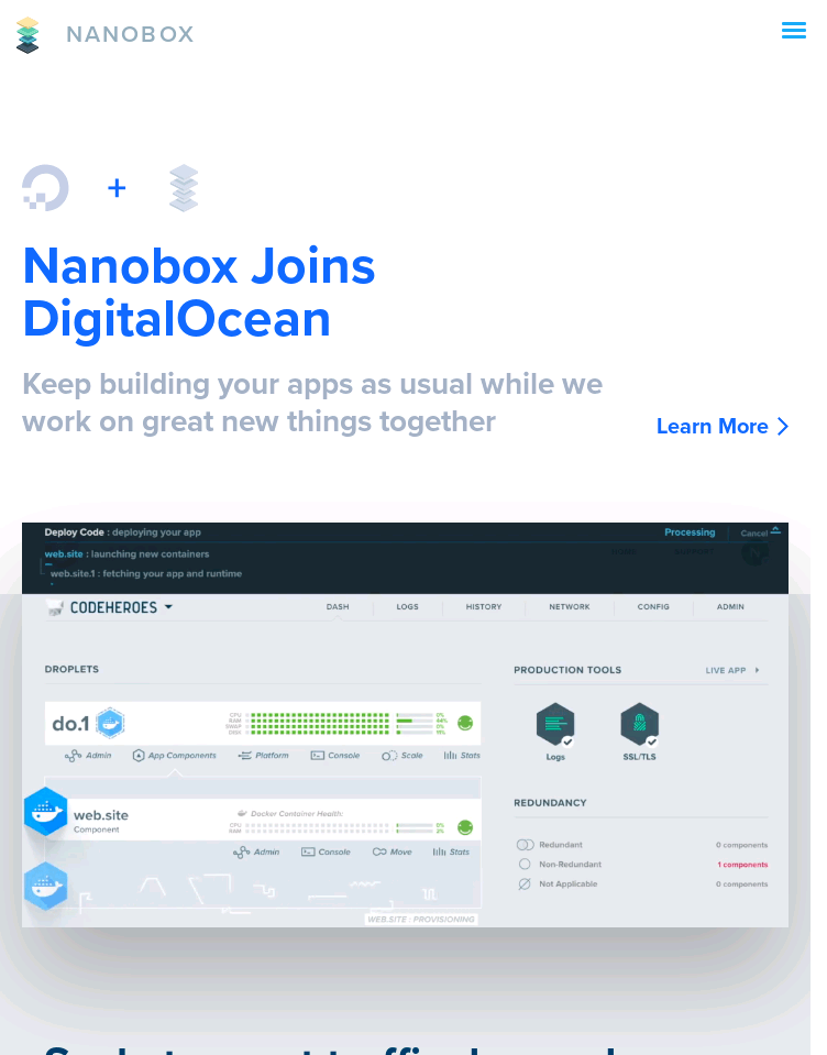 Nanobox  Web Design