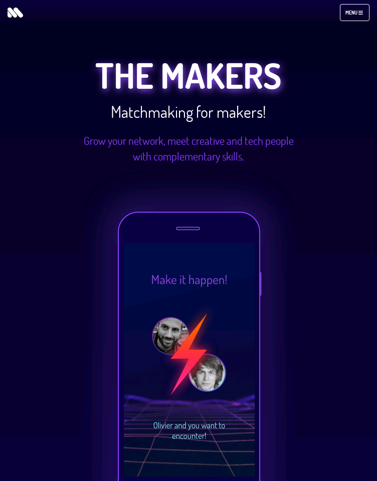 The Makers  Web Design