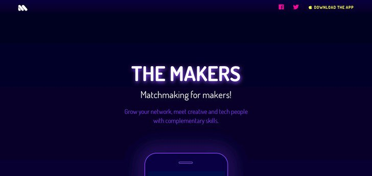 The Makers - Matchmaking for the creative mind