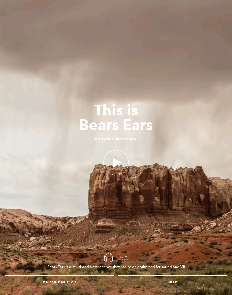 This is Bears Ears  Web Design