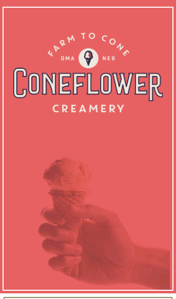 Coneflower Creamery  Web Design