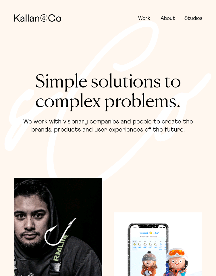 Kallan & Co  Web Design
