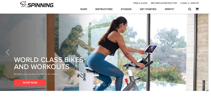 Spinner® Bikes  and Spinning® Instructor Education | For Studios, Instructors an